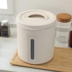 에코 밀폐 원형 쌀통 10kg_(1074249)