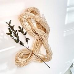 빈티지 마끈 2합 50m / 선물 포장 리본 황마 노끈