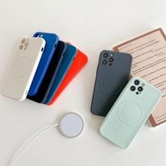 아이폰12 미니 프로 맥스 맥세이프 카메라보호 실리콘 케이스