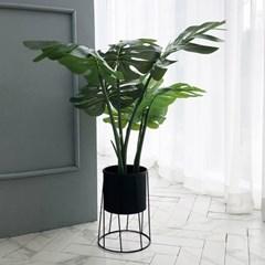 [반짝조명] 몬스테라 나무 조화 (68cm, 120cm)