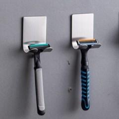 인블룸 접착식 스텐 욕실 다용도 걸이(2+1)_(3080331)