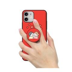 [T] 실버벨 뽀시래기 짱큰콩 스마트톡 카드도어범퍼케이스