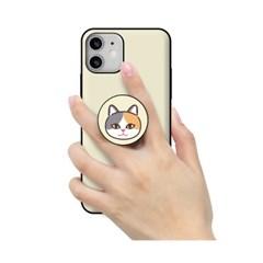 [T] 고양이얼굴 스마트톡 도어범퍼 케이스