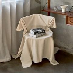 블랭크 쿠션 의자커버/ 광목 식탁의자커버 (RM 309001)