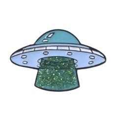 UFO 애나멜 핀 뱃지 세트 (3종 세트)