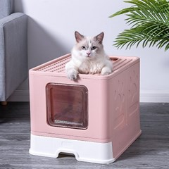 에코펫위드 고양이화장실 사막화방지 투웨이화장실 보관용이