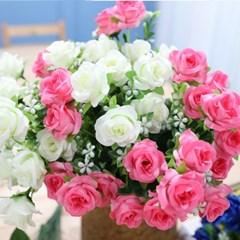 BOX판매 컬장미 12개 성묘 산소 꽃 납골당 조화_(2276435)