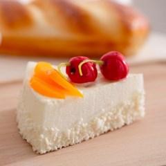 치즈 조각케이크 모형