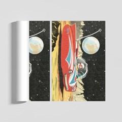 레트로 스페이스 일러스트 인테리어 A2 포스터 VER.1
