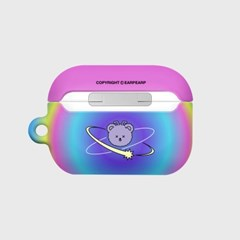 Space night bear-rainbow(Hard air pods pro)_(1724649)