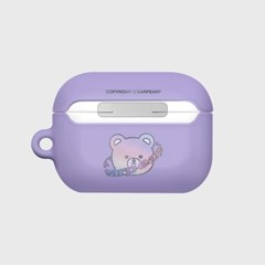 Twinkle gem bear-purple(Hard air pods pro)_(1724640)