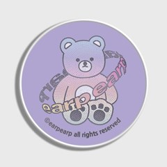 Twinkle gem bear-purple(스마트톡)_(1723902)