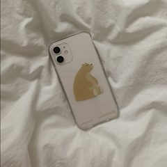 PHONE CASE. Gold bear