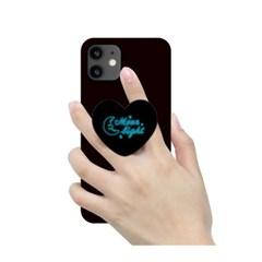 [T] 네온사인 하트 스마트톡 3D곡면하드케이스