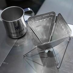 접이식 스텐 커피드리퍼 / 휴대용 캠핑드리퍼
