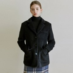 SENSUAL TWEED JACKET_BLACK