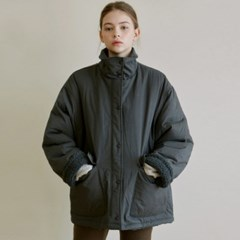 BOA FLEECE PADDING JACKET_CHARCOAL