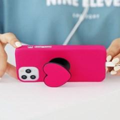 하푼 아이폰SE2 하트 스마트톡 하드케이스