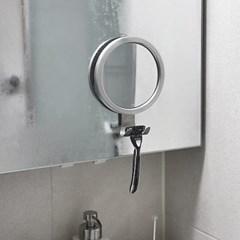 [아토소] 붙이는 욕실 김서림방지 면도경 김서림 샤워부스 거울