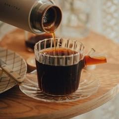 이태리 이첸도르프 그린우드 커피컵앤소서 앰버그라스_(1832150)