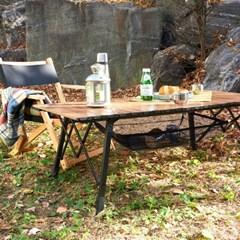 데일리 캠핑 롤 스틸 캠핑 테이블 900 1200 2size