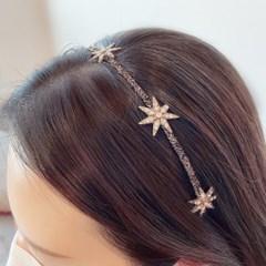 [드앙땅] 별 헤어밴드 머리띠 백화점 퀄리티(4종)