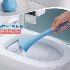 라이프토템 청소용솔 화장실 물때제거 욕실 청소도구 변기솔