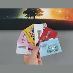 스누피 카드 스티커