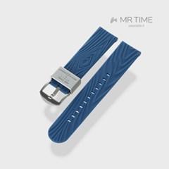[MR TIME x Mother Ground] 마더그라운드 콜라보 시계줄 네이비 22mm