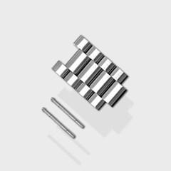 [MR TIME Metal] 스테인레스 스틸 메탈 브러쉬드 4Piece (30mm)