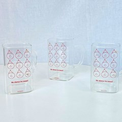 [데일리라떼] 달콤삼형제 스퀘어 glass