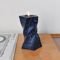 Unbalance Twist Candle - 도트타입 (3colors)