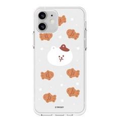 하푼 LG V50 겨울동물 투명젤리 케이스