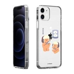 하푼 LG G6 플러스 겨울동물 투명젤리 케이스