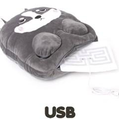 파베르 강아지 USB 온열 발난로 실내화