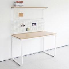 HL5002 필웰 루피노 라운드 타공판 책상 테이블 1200_(303156764)