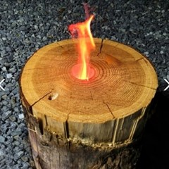 제이픽스 캄푸스 캠핑용 통나무 통불버너