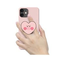 [T] 아기돼지 하트 스마트톡 3D곡면하드케이스