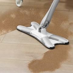 노터치 회전 밀대 바닥 청소 아이디어 막대 걸레