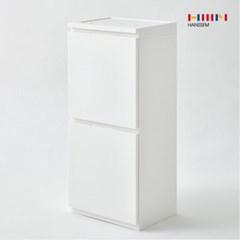 한샘 컴포트 2단 분리수거함 80L