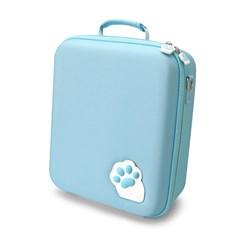 MOD-X 닌텐도스위치 고양이발 풀셋수납 케이스가방/핑크/블루