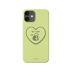 하푼 아이폰XR 귀염뽀짝 하트 스마트톡 하드케이스