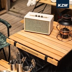 카즈미 윈썸 우드 롤 업 캐비닛 K20T3U015 접이식 테이블 선반