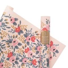 Blushing Rosa Wrapping 3 Sheets 포장지