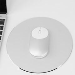 디자인 마우스 패드 / 원형 알루미늄패드