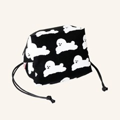 Dog String Pouch - Black