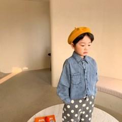 돌핀웨일 써니텐데님셔츠(70~140cm)