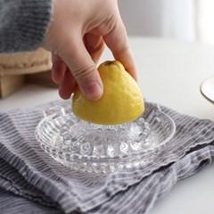 [ 도요사사키 ] 글라스 레몬스퀴저 레몬짜개 레몬즙기