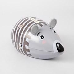 틴케이스 양철 쥐 저금통(브라운)/ 저축 동전저금통