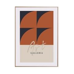 인테리어액자 Bauhaus 002, Koo InHo (500X700(mm))